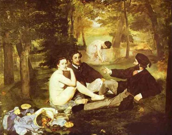 Edouard Manet - Picnic in the Grass 1863