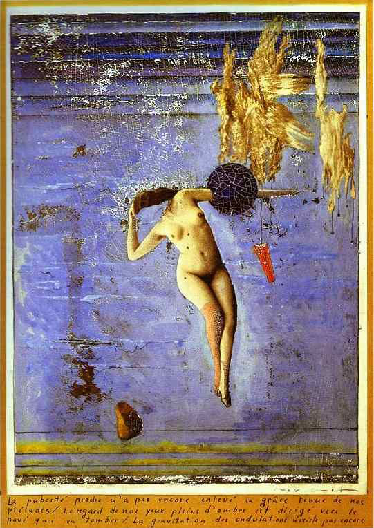 Max Ernst. Approaching Puberty or The Pleiads 1921.